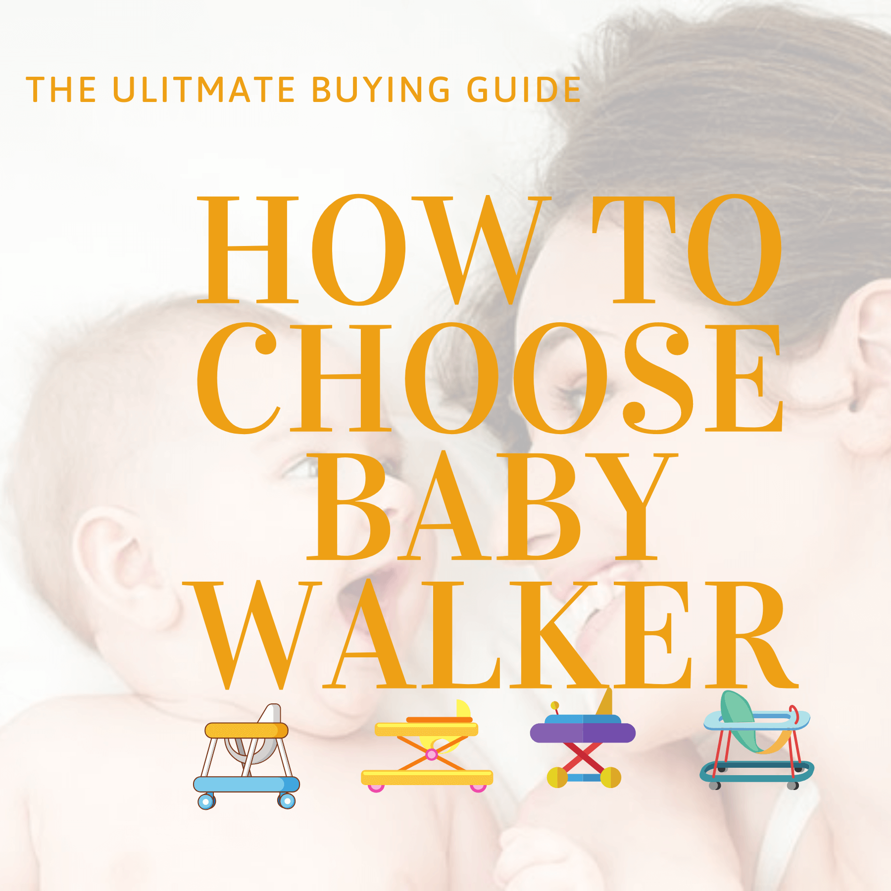 How to buy Baby walker